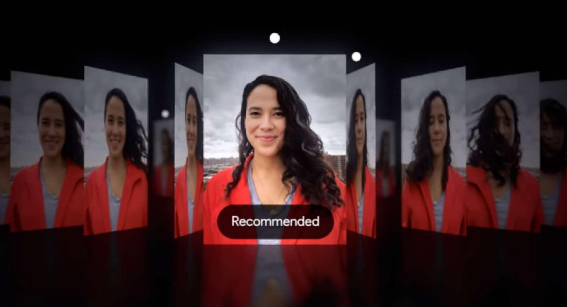 Mode kamera 'Top Shot' Google yang baru.